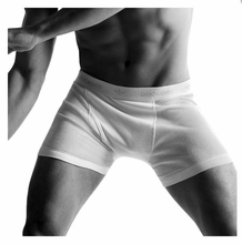 Dockers Knit Boxer Briefs 100% Combed Cotton Knit Traditional Fly