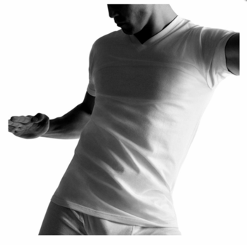 Dockers V-Neck Undershirts Cotton in 4 Pack