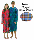 Flannel Nightshirts in 100% cotton