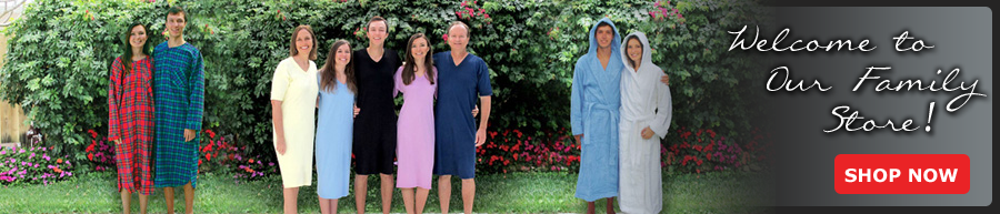 Nightshirts for Men and Women