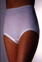 Ladies Cotton Cuff Leg Panty in Pack of 3
