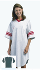 Ladies Varsity Cotton Nightshirt One Size in 37 inch length