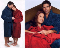Mens Tahoe Microfleece Robes