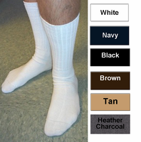 Multipurpose Mens Crew Socks in 82% Cotton