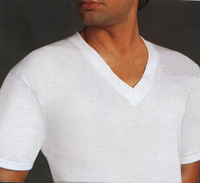 Munsingwear V-neck Undershirts Sizes S-X in 3 Pack