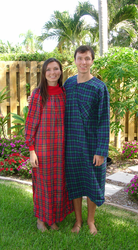 """Cowl Neck Cotton Flannel Nightgown 52"""" S-XXX-Large USA"""