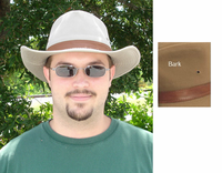 Sun Protection with Outback Cotton Twill Hat in 100% cotton 50+ UPF