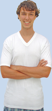 V-Neck Undershirts in all Cotton
