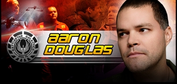 Aaron Douglas, �Chief Galen Tyrol,� <i>Battlestar Galactica</i>, Joins the Wizard World Comic Con Tour!