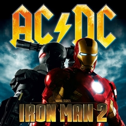 AC/DC IRON MAN 2 DAILY GIVEAWAYS AT ANAHEIM COMIC CON