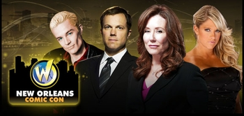 Adam Baldwin, Mary McDonnell, James Marsters, Michael Biehn, WWE� Diva Kelly Kelly� @ 2012 New Orleans Comic Con!