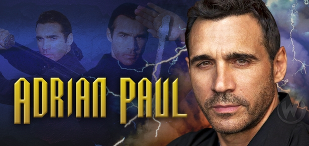 Adrian Paul, <i>Duncan MacLeod/Highlander</i>, �Highlander,� Coming to Reno!