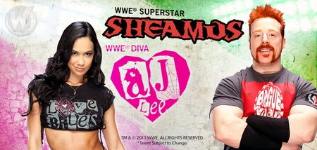 AJ Lee�, <i>WWE� Diva</i> & Sheamus�, <i>WWE� Superstar</i>, Coming to Ohio Comic Con!