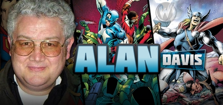 <i>Alan Davis</i>, �Captain America� Artist, Coming to Chicago Comic Con!