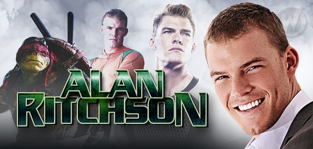 Alan Ritchson, <i>Raphael</i>, TEENAGE MUTANT NINJA TURTLES & <i>Arthur Curry/Aquaman</i>, �Smallville,� Coming to Tulsa Comic Con!
