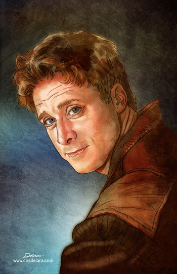 <i>Alan Tudyk</i> Chicago Comic Con VIP Exclusive Lithograph by Cris Delara