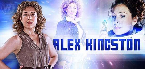 Alex Kingston, <i>River Song</i>, �Doctor Who,� Coming to Portland!