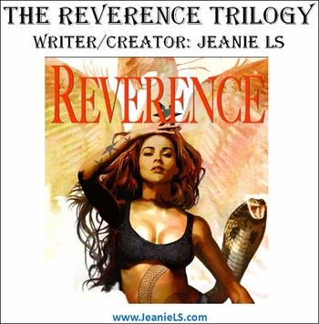 <i>Allessandra from The Reverence Trilogy</i> by Jeanie LS Galster & Arthur Suydam