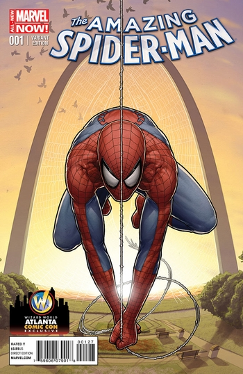 <i>Amazing Spider-Man #1</i> Atlanta Comic Con Exclusive Variant Cover by John Tyler Christopher