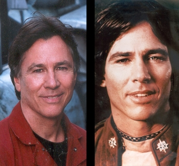 ANAHEIM COMIC CON WELCOMES BATTLESTAR GALACTICA STAR RICHARD HATCH