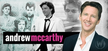 Andrew McCarthy, WEEKEND AT BERNIE�S, Joins the Wizard World Comic Con Tour!