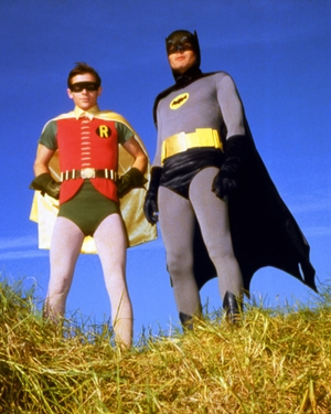 Another Round, Old Chum... Cocktail Party With �Batman And Robin� Set For Saturday Night!