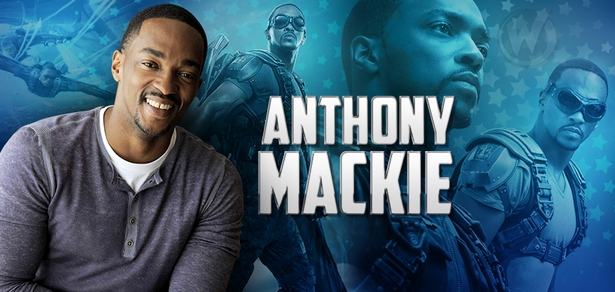 Anthony Mackie, <i>Sam Wilson/The Falcon</i>, CAPTAIN AMERICA, Coming to Chicago Comic Con!