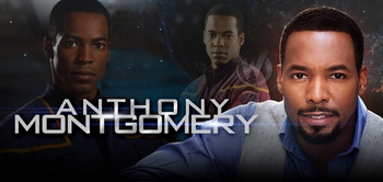 Anthony Montgomery, <i>Ensign Travis Mayweather,</i> �Star Trek: Enterprise,� Coming to Indianapolis Comic Con!