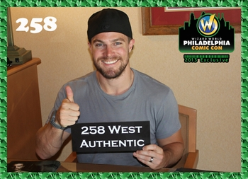 <i>Arrow�s Stephen Amell</i> 258 West Authentic Philadelphia Comic Con Exclusive Promo Card