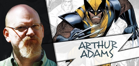 Arthur Adams, <i>X-Men</i> Artist, Coming to Chicago, San Jose 2015, & Portland 2016!