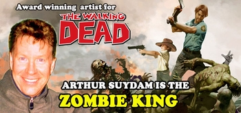Arthur Suydam, <i>Zombie King!</i>, Coming to Tulsa, Austin, Louisville, Reno, New Orleans, Portland, Las Vegas, Minneapolis, Philadelphia & Chicago!
