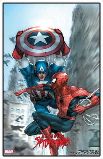 <i>Avenging Spider-Man</i> Exclusive Lithograph by Leinil Yu