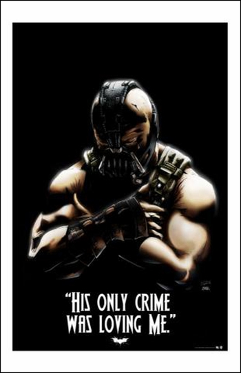 <i>Bane</i> Austin Comic Con Exclusive Lithograph by Chad Heinrich & Tommy Shelton