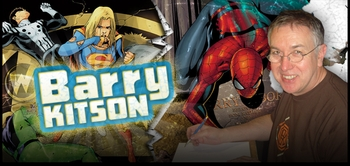 Barry Kitson, <i>Amazing Spider-Man</i>, Coming to Ohio and Nashville!