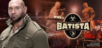 WWE� Superstar Batista� (Dave Bautista) & <i>Drax</i>, GUARDIANS OF THE GALAXY, Coming to Philadelphia Comic Con!