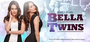 WWE� Divas The Bella Twins�, <i>Nikki & Brie</i>, Join the Wizard World Comic Con Tour!