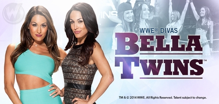 WWE� Divas The Bella Twins�, <i>Nikki & Brie</i>, Coming to San Antonio Comic Con!