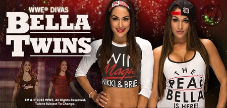 WWE� Divas The Bella Twins�, <i>Nikki & Brie</i>, Coming to Minneapolis!