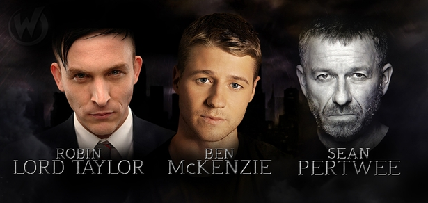 Ben McKenzie, Robin Lord Taylor, Sean Pertwee, �Gotham,� Coming to Chicago!