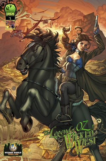 �Big Dog Ink� and Wizard World Chicago Comic Con Bring Fans Legend of Oz: The Wicked West #1!