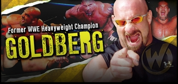 Bill Goldberg, <i>Former WWE Champion</i>, is going to �Jackhammer� Fans @ Philadelphia Comic Con!