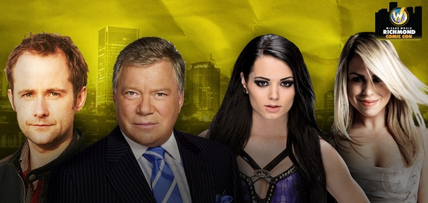 William Shatner, Billie Piper Among Top Celebrities Scheduled To Attend Wizard World Comic Con Richmond, July 31-August 2