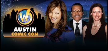 Billy Dee Williams, Lee Majors, Lindsay Wagner & Claudia Christian, Among Headliners @ Austin Comic Con!