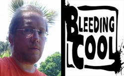 �Bleeding Cool� Writer, Cartoonist Rich Johnston To Attend Chicago Comic Con