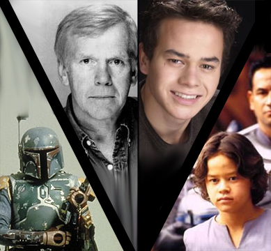 BOBA FETT ACTORS JEREMY BULLOCH AND DANIEL LOGAN UNITE AT THE BIG APPLE COMIC-CON!