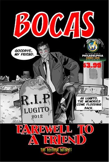 <i>Bocas: Farewell to a Friend</i> Philadelphia Comic Con Exclusive Print by Jake Estrada