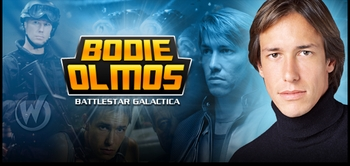 Bodie Olmos, �Lt. Junior Grade Brendan �Hotdog� Costanza,� <i>Battlestar Galactica</i>, Coming to Miami Comic Con!
