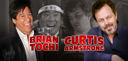 Brian Tochi & Curtis Armstrong, REVENGE OF THE NERDS, Coming to Philadelphia Comic Con!