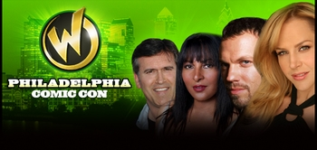 Bruce Campbell, Adam Baldwin, Pam Grier, Vivica A. Fox, Julie Benz, Billy Dee Williams Among Headliners @ Philadelphia Comic Con!