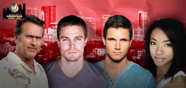 Stephen Amell, Robbie Amell, Bruce Campbell, Sonequa Martin-Green Among Top Celebrities Scheduled To Attend Wizard World Comic Con Louisville, November 6-8